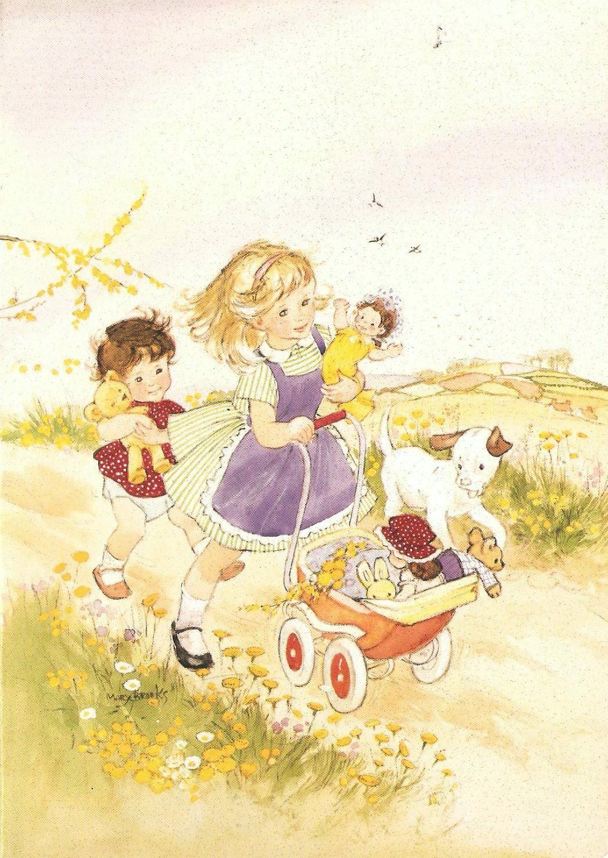 Mary A. Brooks illustration