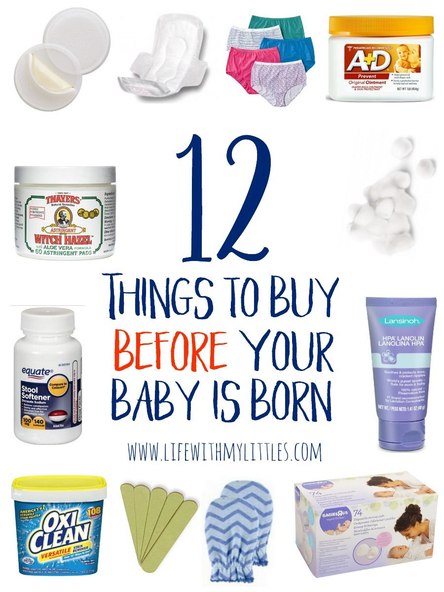 These 12 things to buy before your baby is born are genius! Great ideas of things you would never think of from a mom of three!