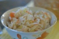 This simple sauerkraut recipe can be served as a condiment, salad dressed with dill and onions, or a healthy addition to other dishes. Refrigeration as we know it is actually a rather recent invention. In 1877, a German engineer, Carl Paul Gottfried von Linde obtained a patent for his invention of the refrigerator but it …