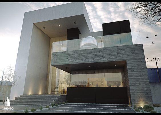 CREATO ☆~Architecture 3~☆ Pinterest Fachadas, Arquitectura - fachadas contemporaneas