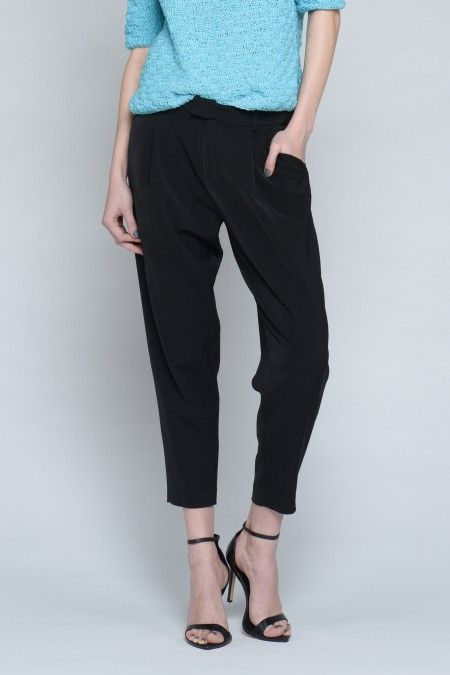 Tapered Leg Relaxed Trousers // Shop Anthom - $28, orig. $62