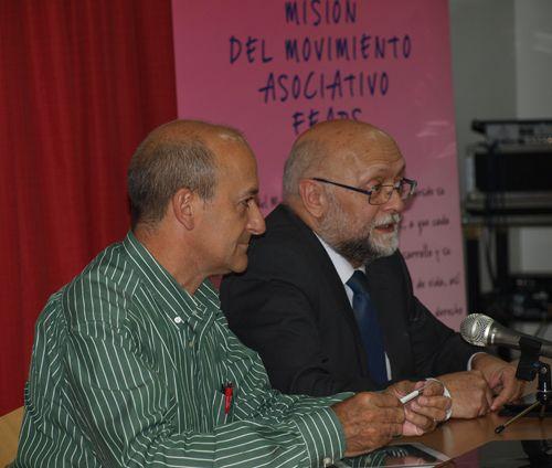 Miguel Ángel Martín y Javier Tamarit dinamizaron la parte final del encuentro