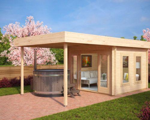 Die 10 meistverkauften Gartenhäuser im April - Hansagarten24