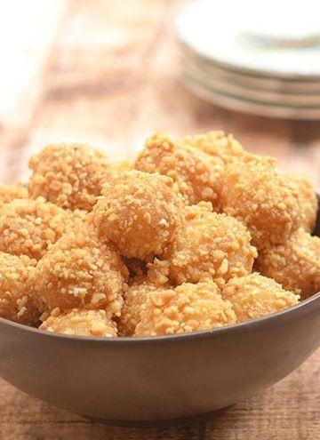 Sticky Rice Balls with Peanuts | Recipe | Rice balls ...