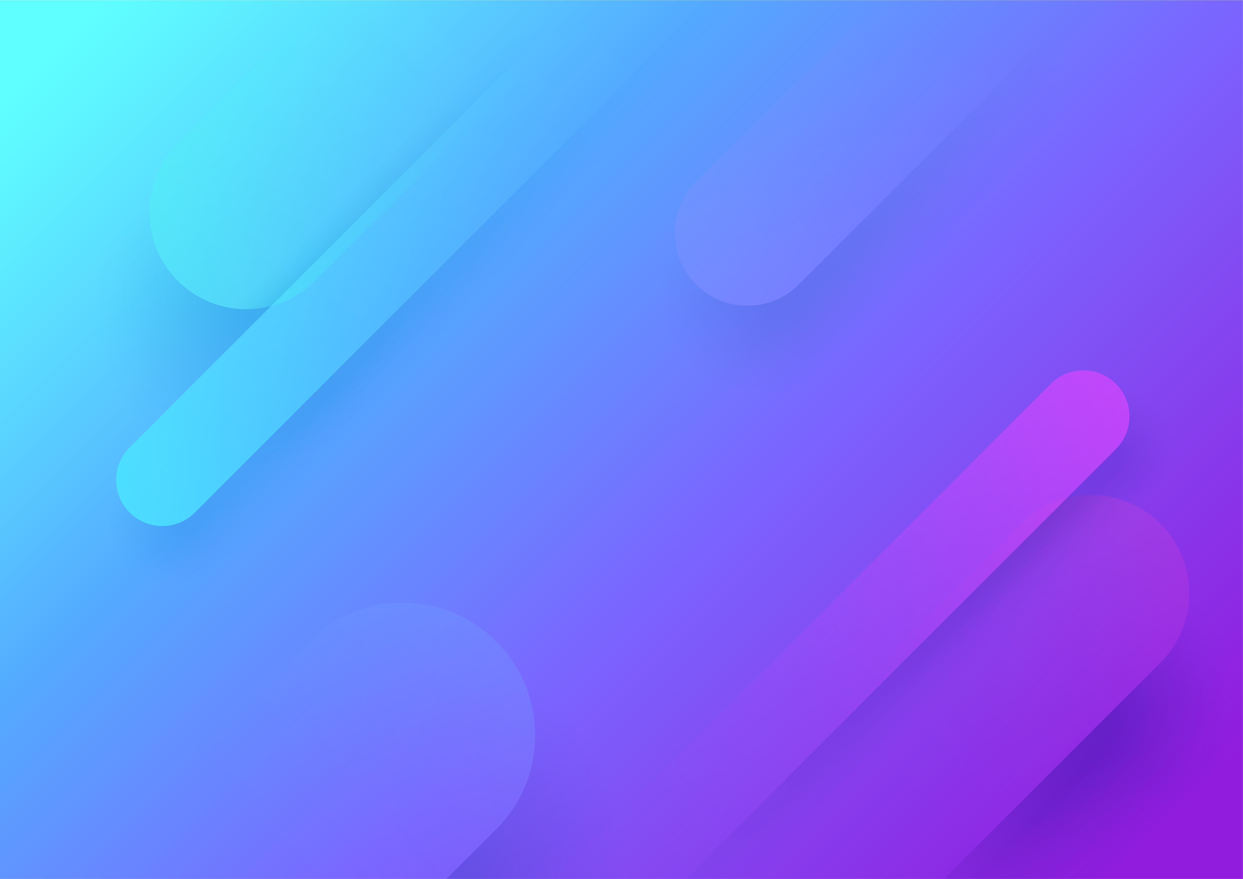 Gradient Abstract Shapes Background Purple Vector Free
