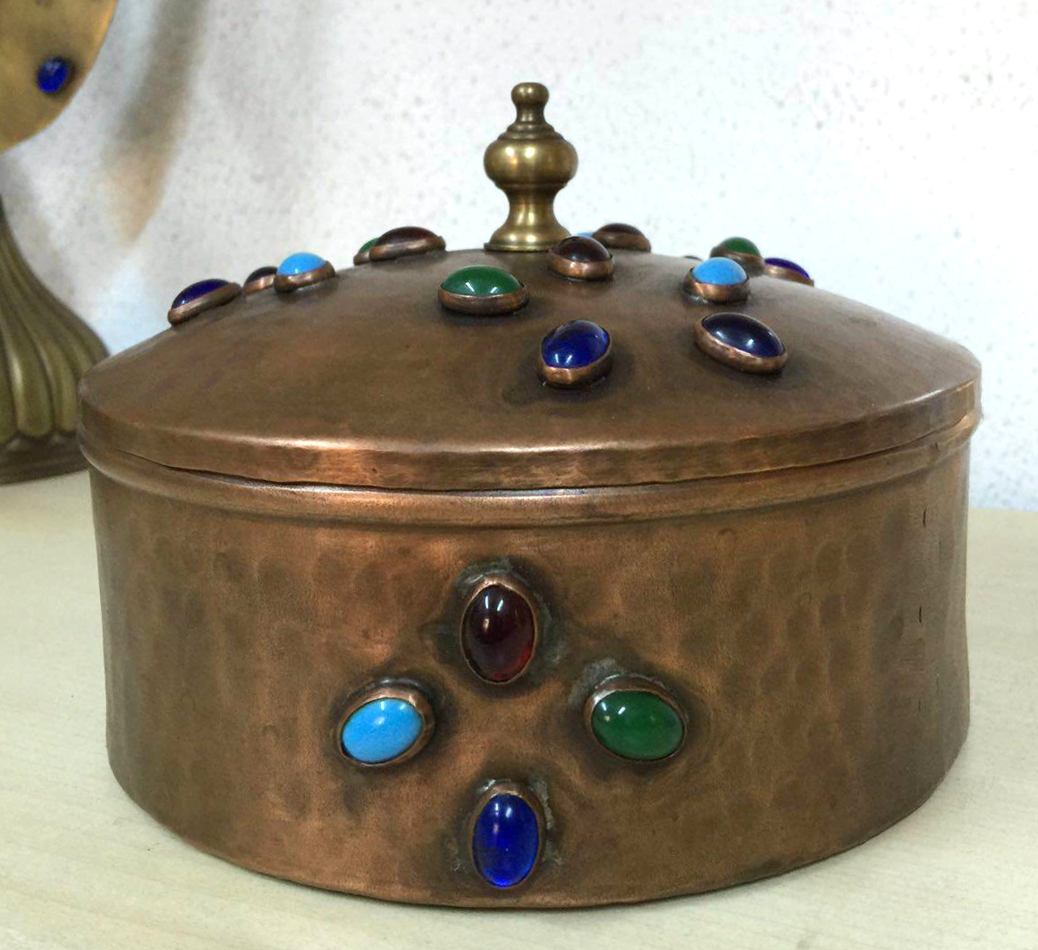 HANDMADE ORIENTAL JEWELRY BOX