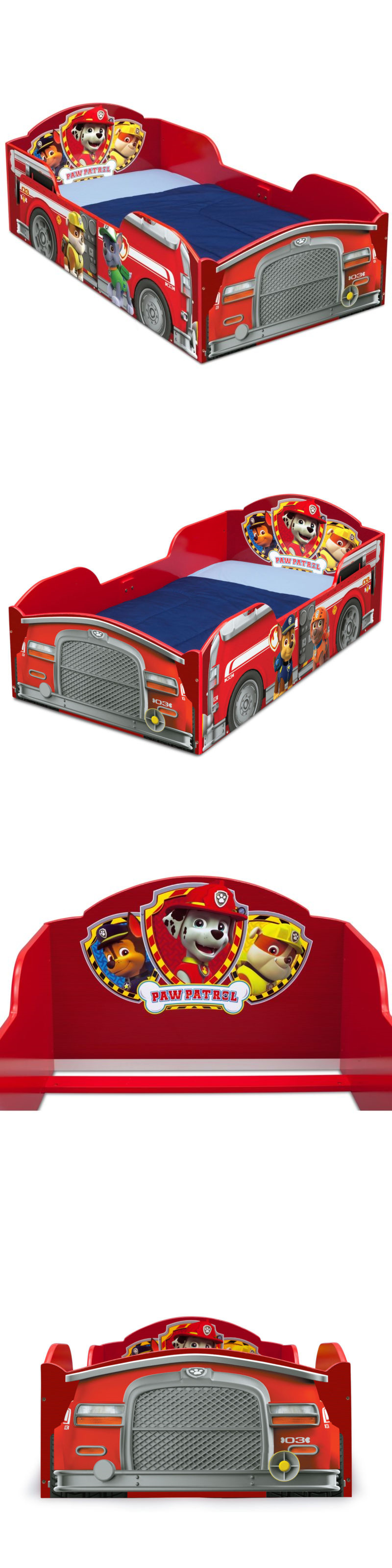 Boys' loft bed with slide (box 2)  Bedroom Furniture  Nick Jr Paw Patrol Wood Toddler Bed ue BUY