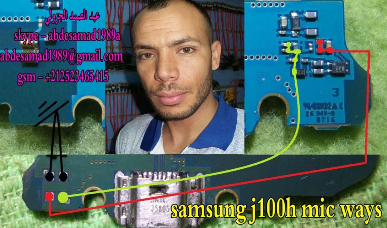 Samsung Galaxy J1 J100 Mic Solution Jumper Problem Ways