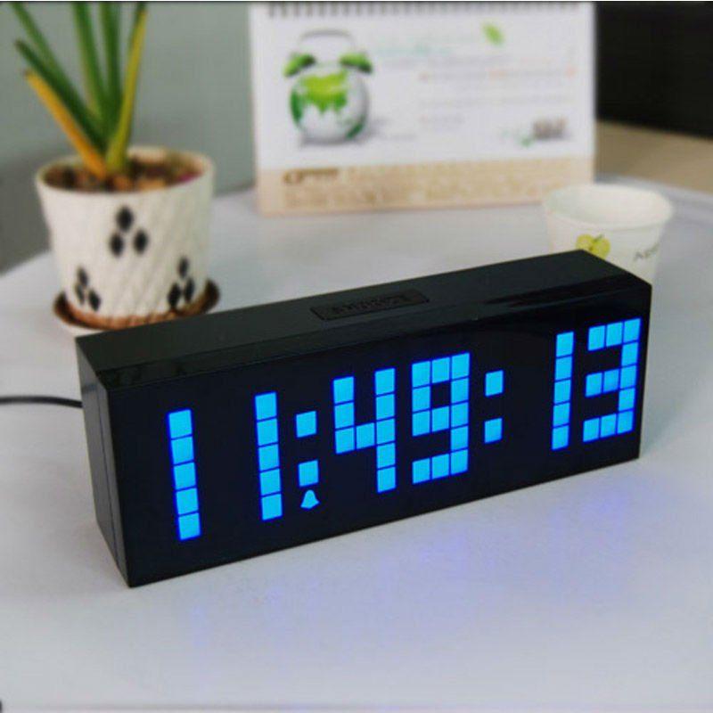 Stylish Led Digital Modern Alarm Clock Home Decorative Wall Watch Free Shipping On Aliexpress Com 71 04 Modern Alarm Clock Clock Alarm Clock