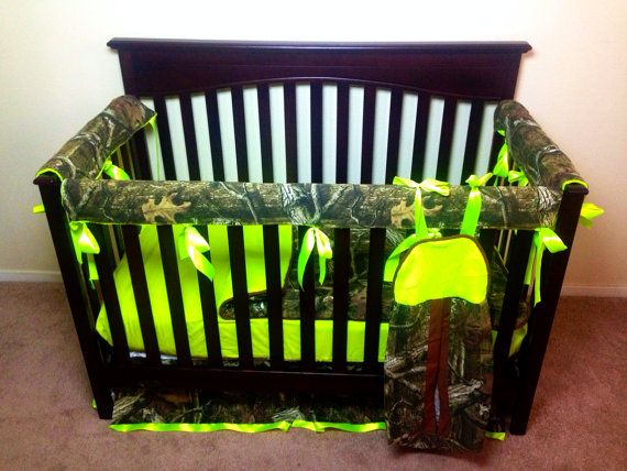 Mossy Oak Any Camo Of Your Choice Crib Set With By