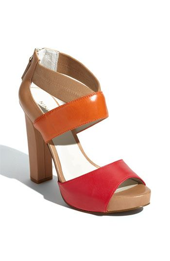 9c1f23985ed color block straps sandal