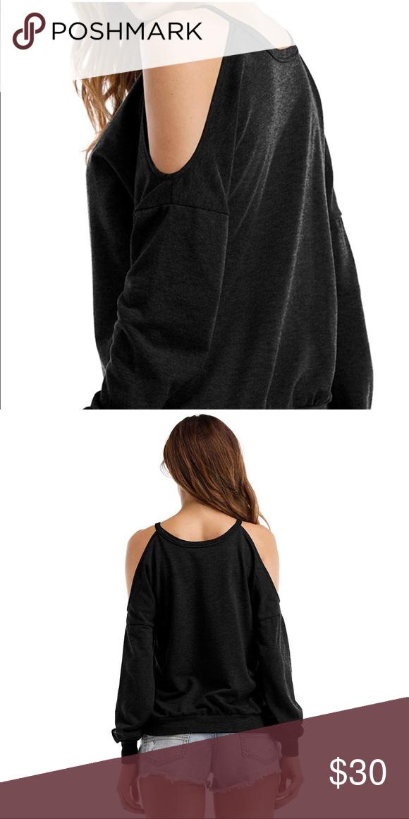 0f44b29204f40 Women s sweatshirt Women s halter neck top cut out shoulder blouse sarin  mathews Tops Blouses