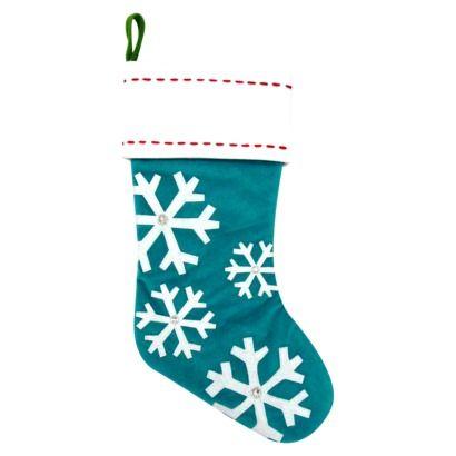 d2155ce232b698 Snowflake Stocking - Aqua | Target | Because it should ALWAYS be ...