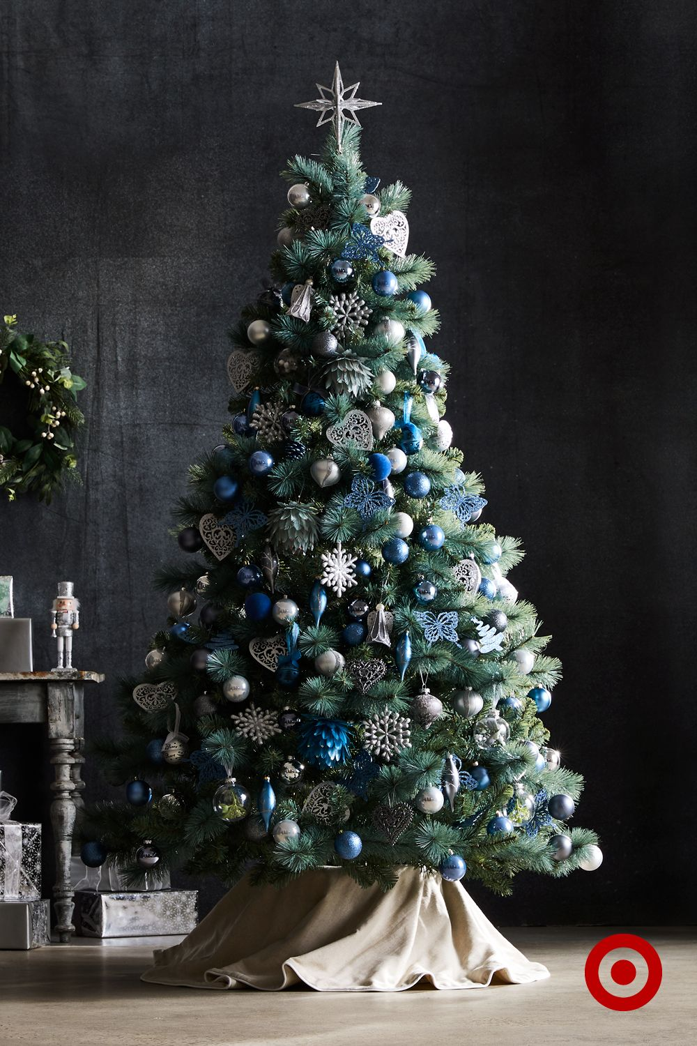Blue Aspen Christmas Tree 6.5ft (T13) (With images