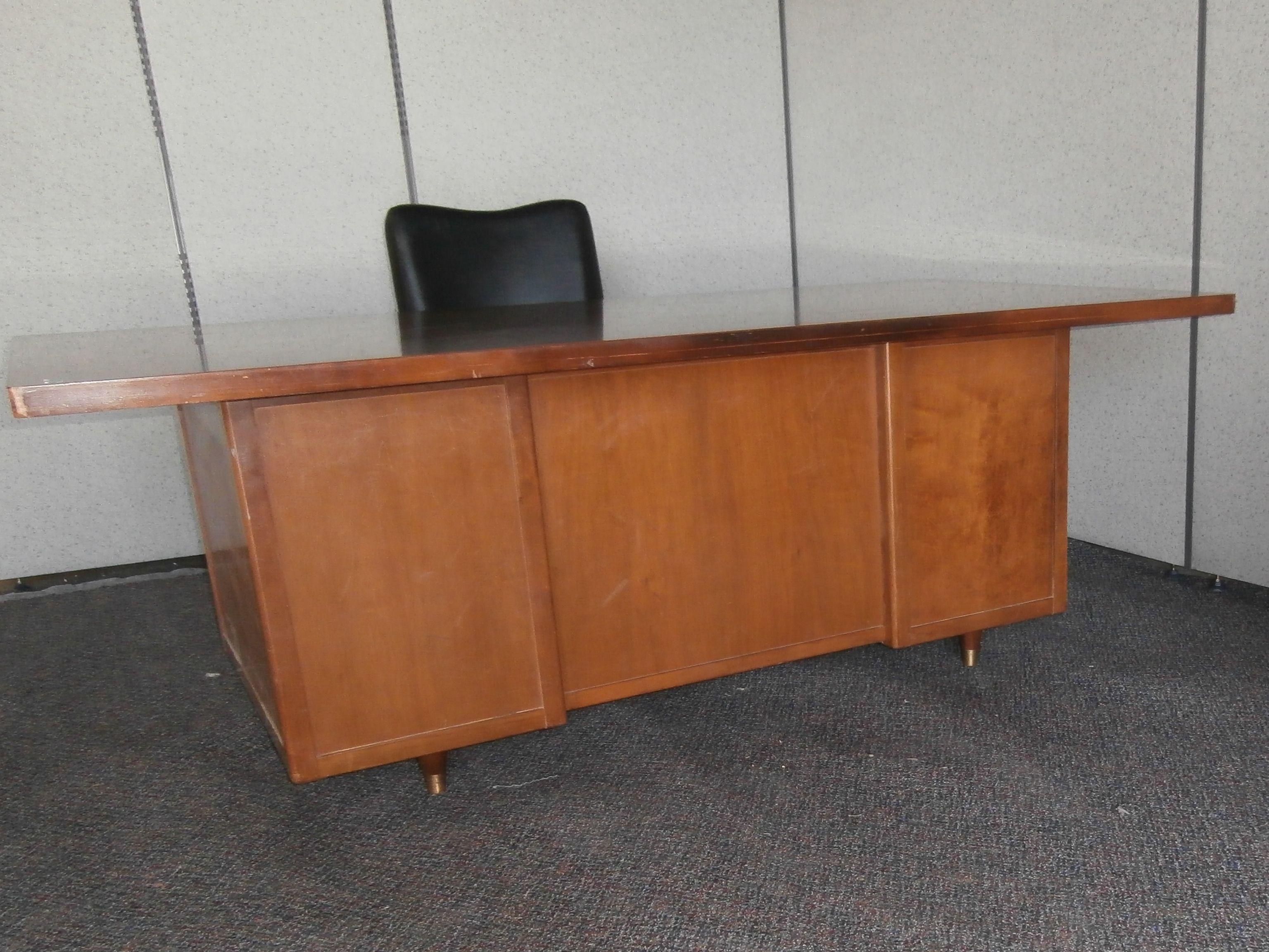 008 double pedestal desk