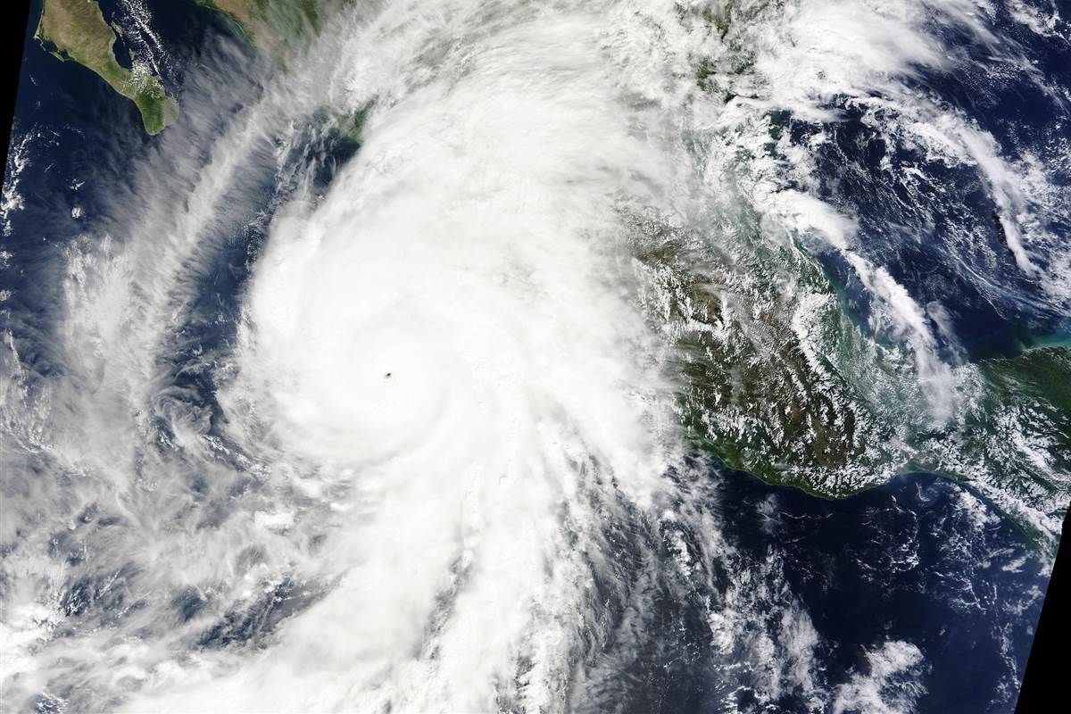 Hurricane Patricia Weakens To Category 2 After Hitting Mexico Earth From Space Nature Image Of The Day