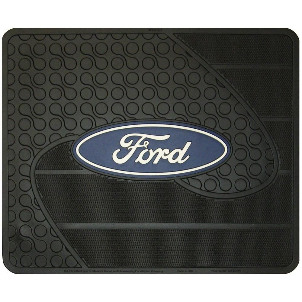 Plasticolor Ford Heavy Duty Vinyl 17 In X 14 In Utility Car Mat