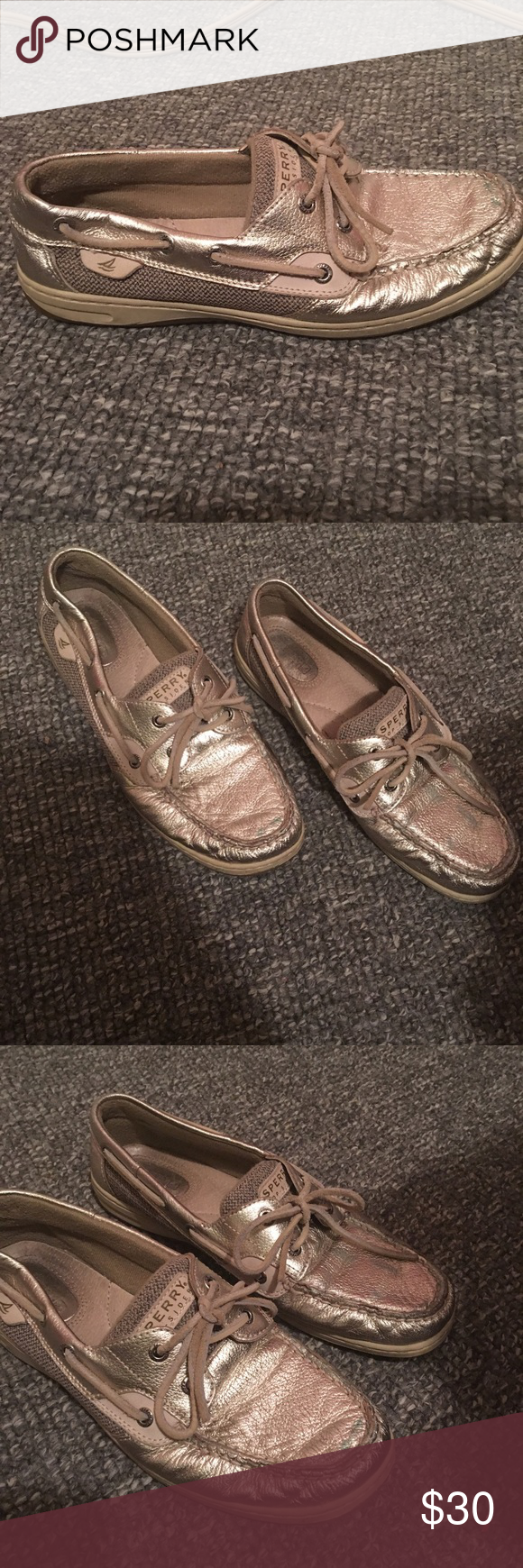 Shoes Size 10 slightly worn still good condition Sperry Shoes Flats & Loafers