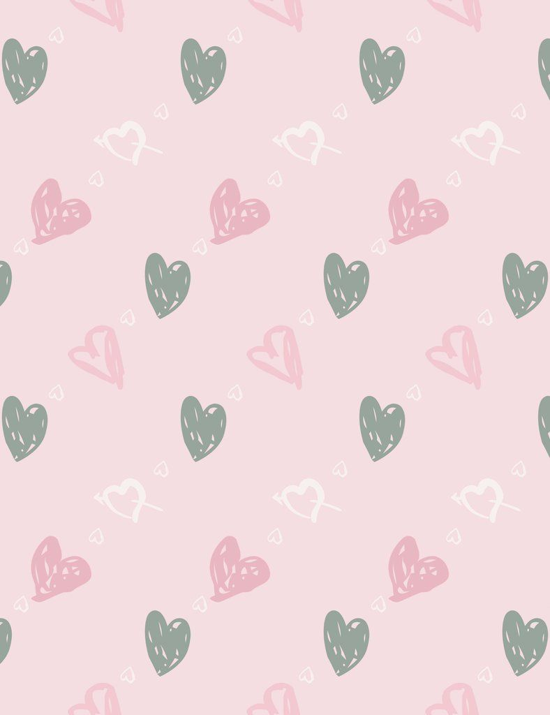 Printed Hearts On Pink Paper Wall Backdrop For Photography Hipster Phone Wallpaper Iphone Background Wallpaper Cute Patterns Wallpaper