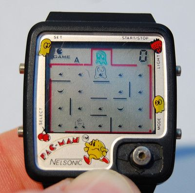 Nelsonic Pac Man Watch Video Game W Joystick Control Things I Had