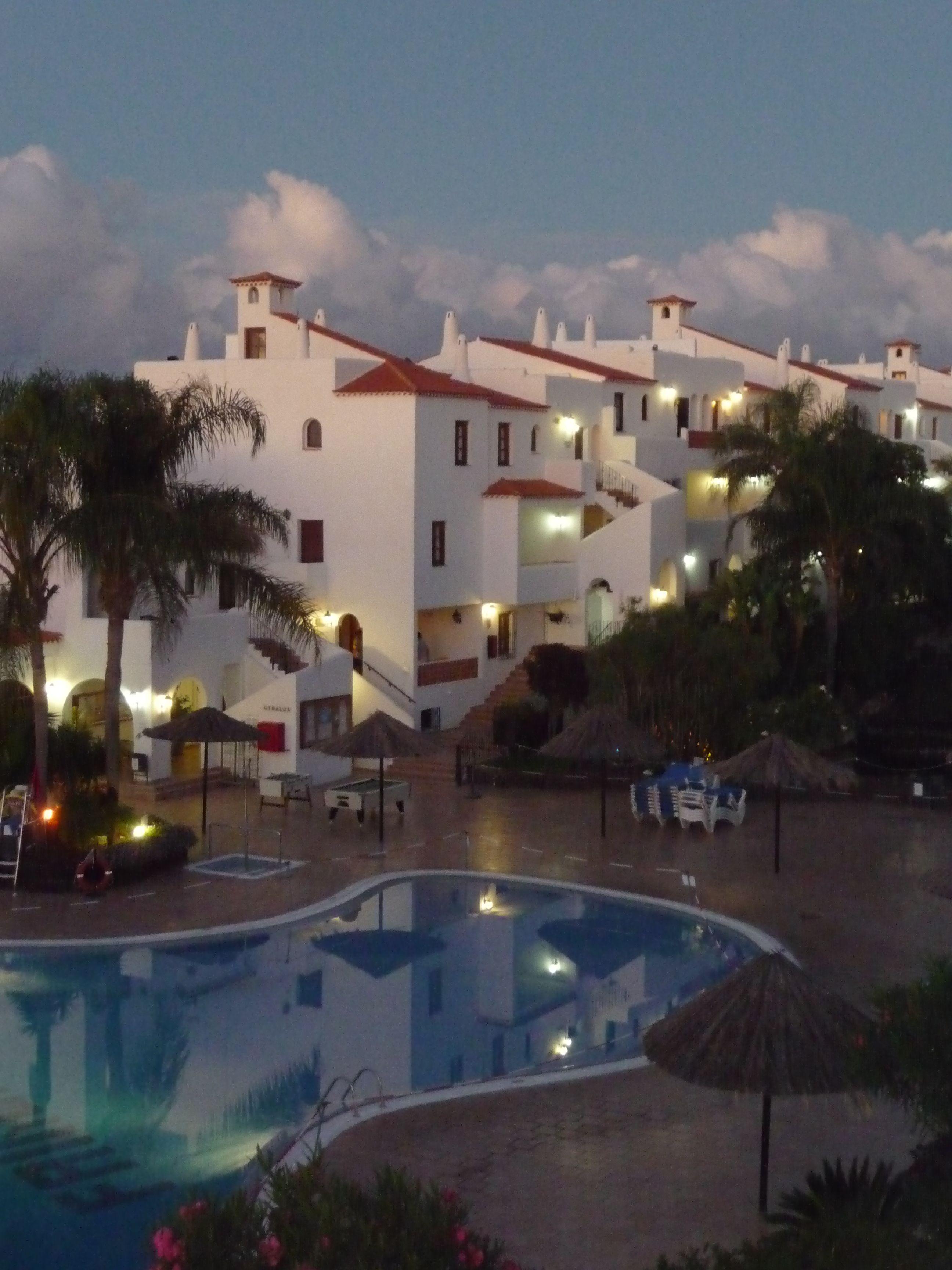 Tenerife, apartment block