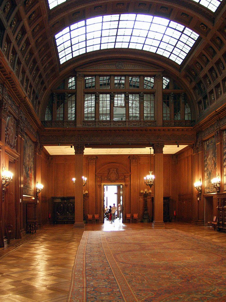 Villa Hügel erster Stock First floor of Villa Hügel, the