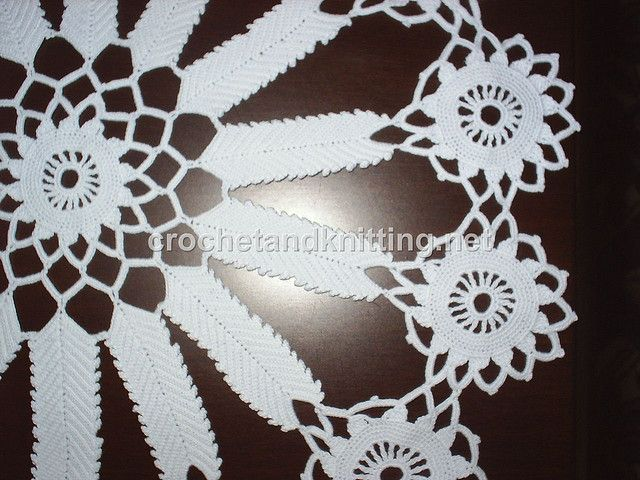 Crochet doily pattern | carpetas | Croché y Manteles