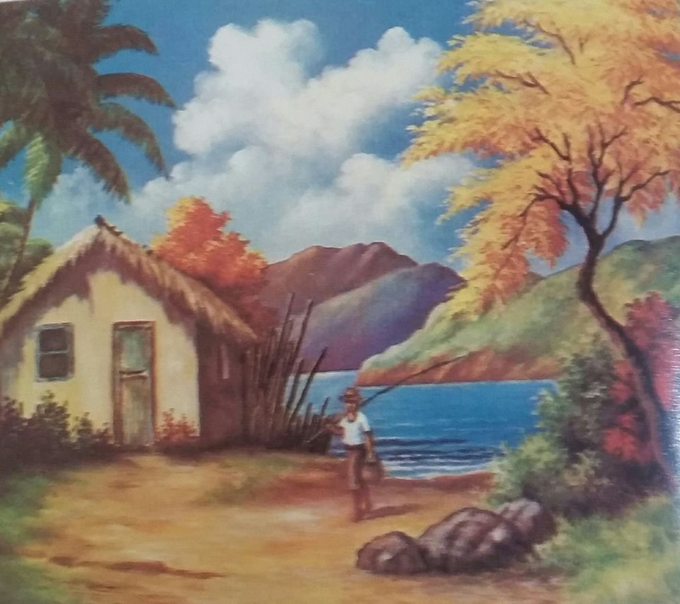 Pin De Leila Ivana Em Paisajes Tropicales Pintura Em Telas