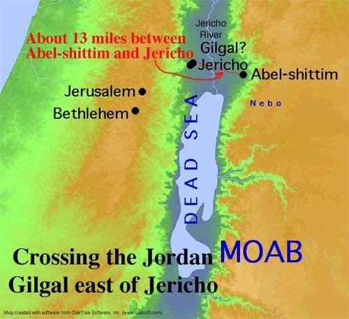 Image result for gods people looking over jordan river