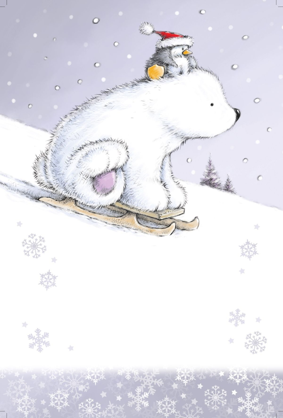penguin and polar bear mandala print christmas drawing. Black Bedroom Furniture Sets. Home Design Ideas