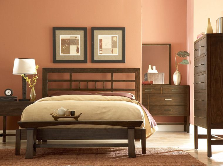Brown Painted Asian Bedroom Design How To Zimbio