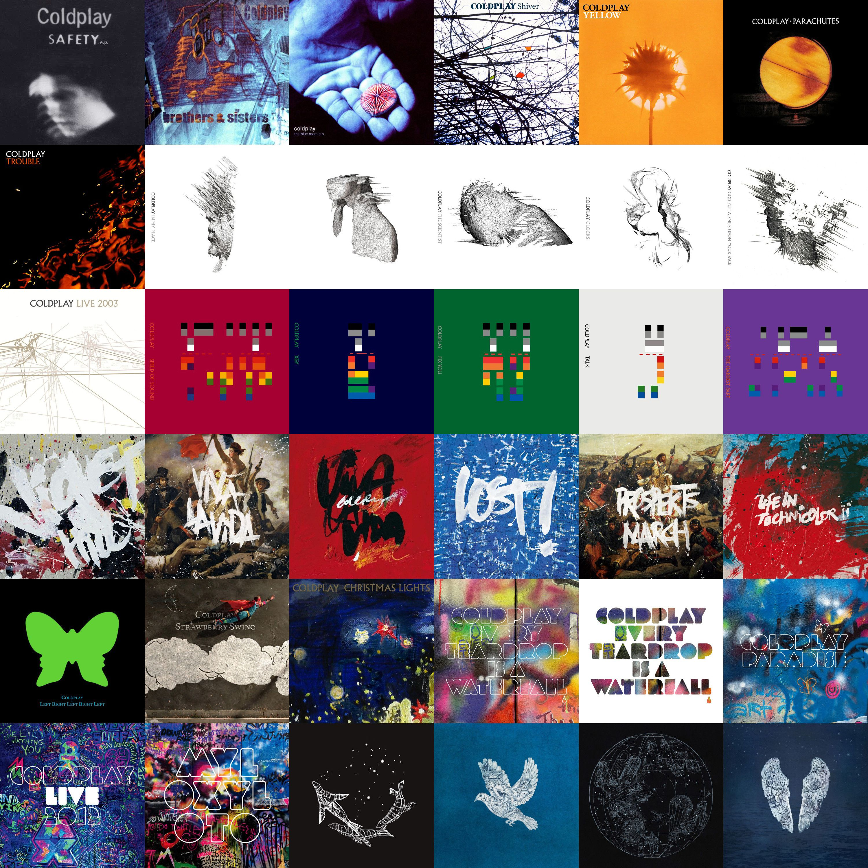 Coldplay Albums Google Search Coldplay Coldplay Albums Cool Bands