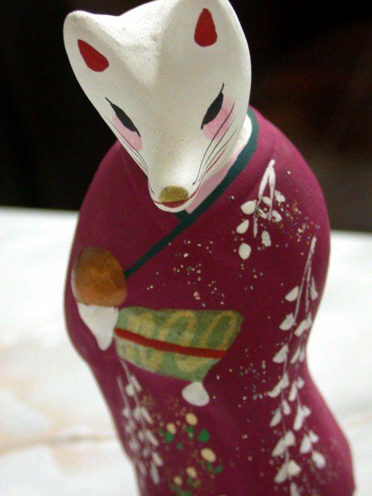 Japan style - Fox (Kitsune) figure