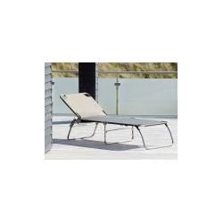 Photo of Jan Kurtz Möbel Aluminium Couch Amigo Big braun, Designer Francesco Favagrossa, 40×75 cm Jan KurtzJa