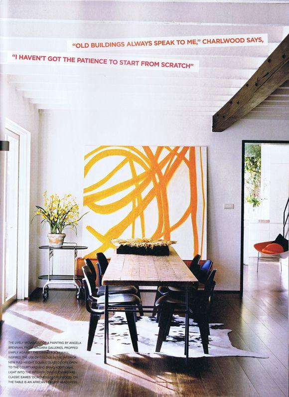 Vogue Living  Wide Plank Wood Flooring Vogue Living And Wide Plank Enchanting Large Artwork For Living Room Design Ideas