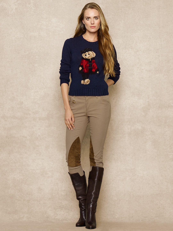Love me some Ralph. Polo Bear Sweater - Crewnecks   Tanks Sweaters -  RalphLauren.com 966617c4bf00