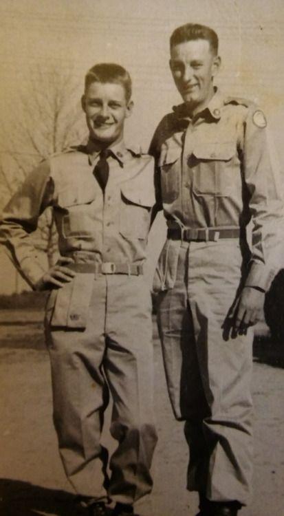 My Grandpa on the left