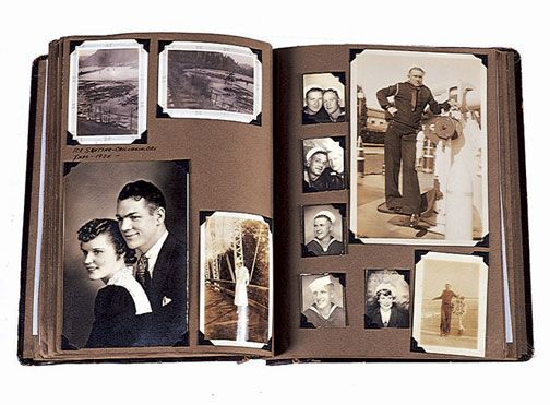 like a family photo album growing but snapshots show the history