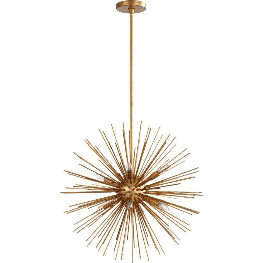 Bakersville 8 Light Sputnik Chandelier