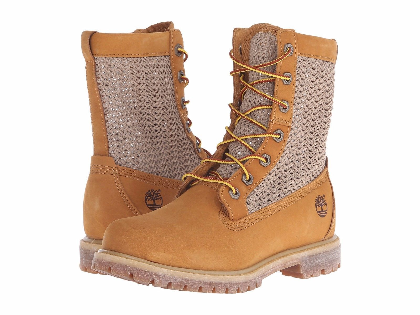 Women's Shoes Timberland Authentic Open Weave 6 Inch Boot