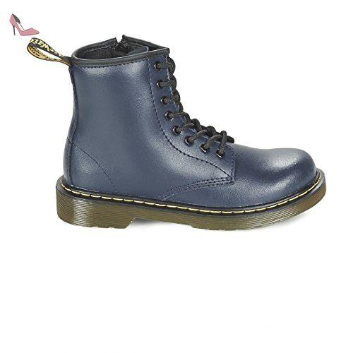 Kensington Valentine P, Chaussures à Bouts Ouverts Femme, Noir-Noir, 40 EUDr. Martens