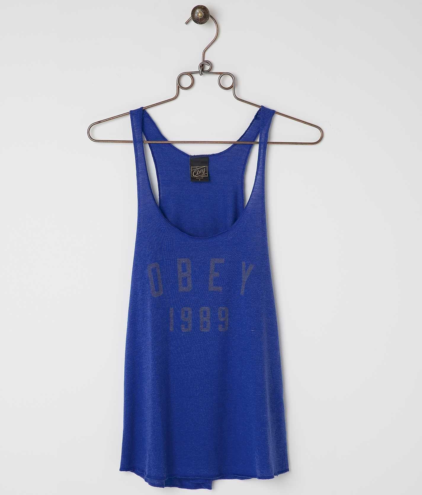 d2ea446d3a144a OBEY Phys Ed Tank Top - Women s Loungewear