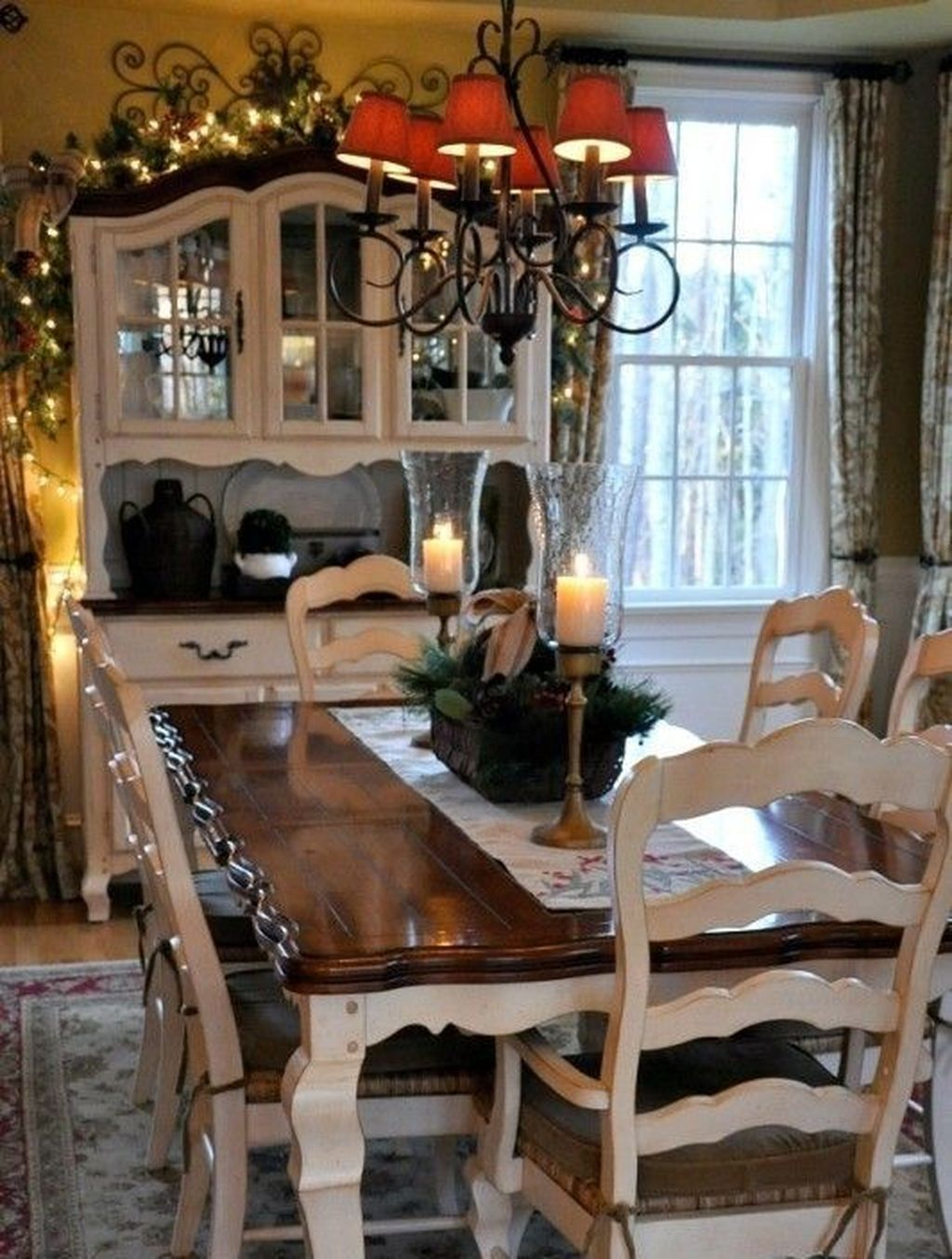 50 Amazing French Country Dining Room Table Decor Ideas French