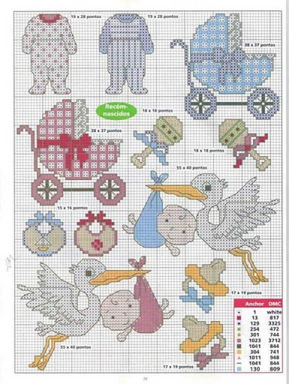 Solo Patrones Punto Cruz | baby | Pinterest | Cross stitch baby ...