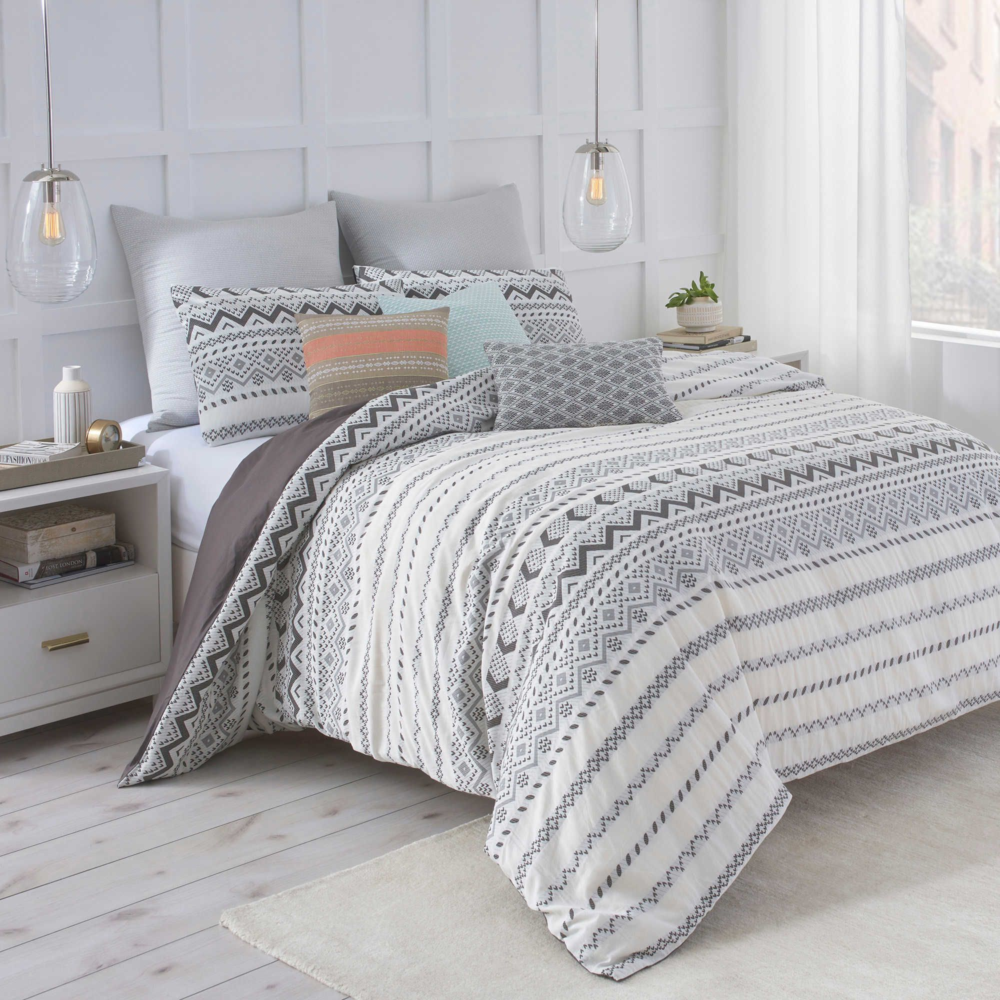 Under the Canopy® Abstract Aztec Duvet Cover Set