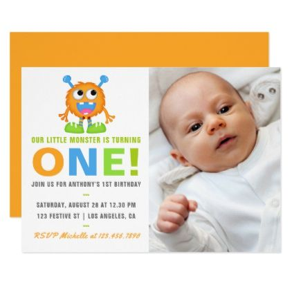 1st birthday baby boy add photo party invitation baby birthday 1st birthday baby boy add photo party invitation baby birthday sweet gift idea special customize negle Image collections