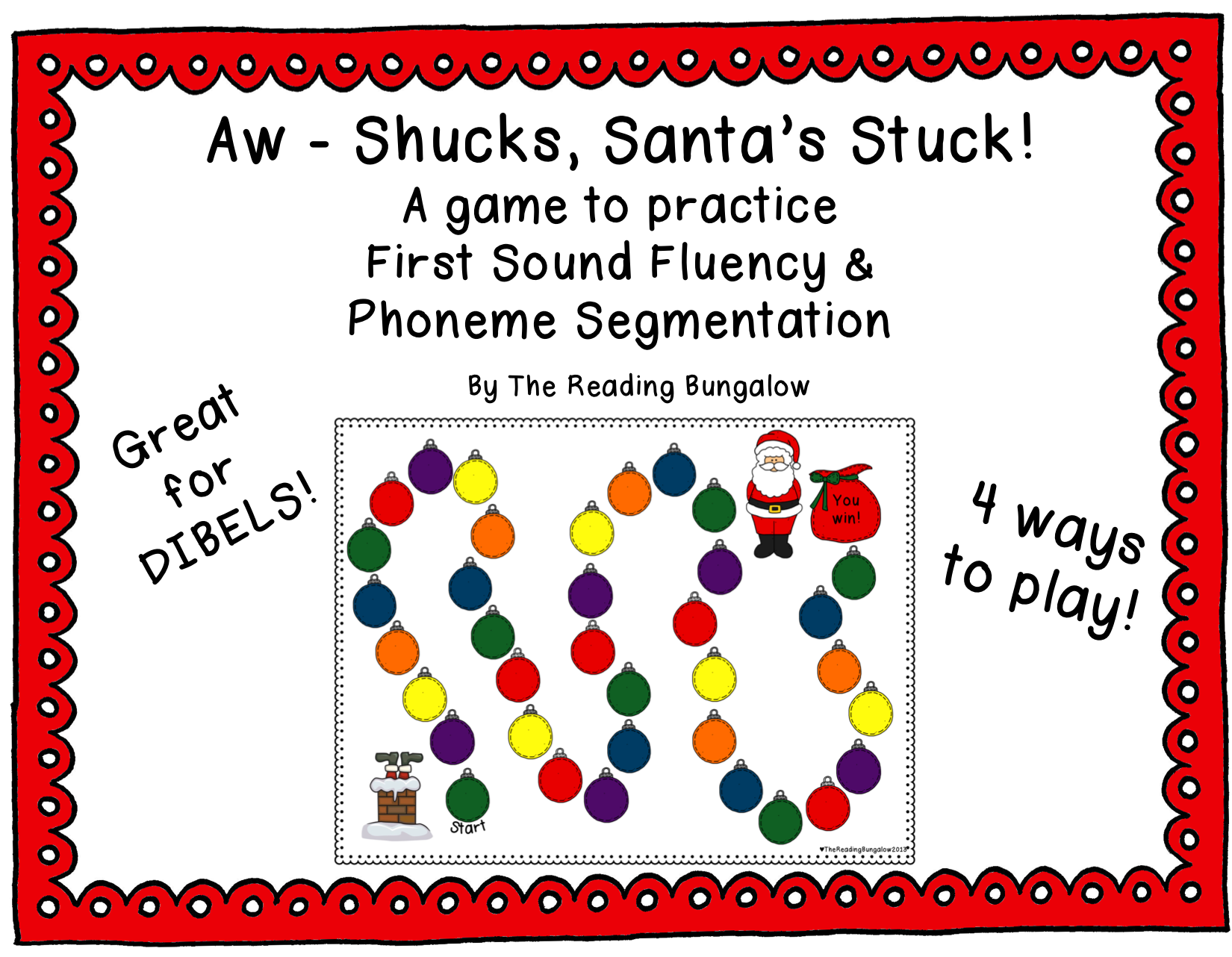 First Sound Fluency Amp Phoneme Segmentation Aw