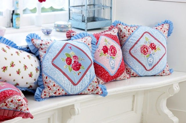 Pip kussens lucky ming cottage shabby chic