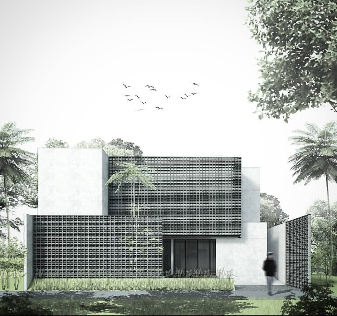 Seputar Arsitektur Su Instagram Reposted From K Bagus S Facade Study Massing Study Rumah Tahfidz Desain Eksterior Desain Arsitektur Arsitektur Rumah