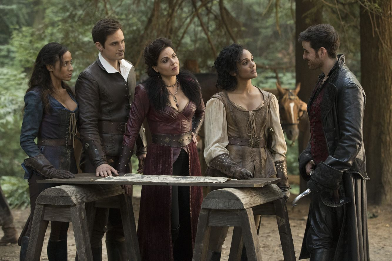 New Andrew J West And Alison Fernandez Once Upon A Time With